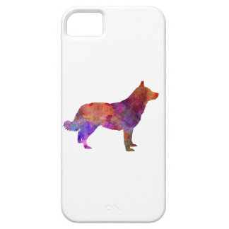 Lapponian Herder in watercolor iPhone 5 Covers