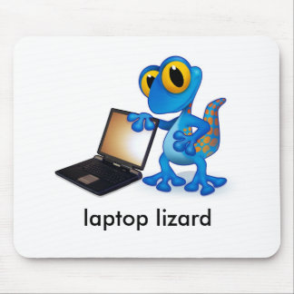 laptop lizard mouse pad