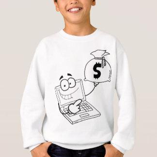 Laptop moneybag - show me the money! sweatshirt