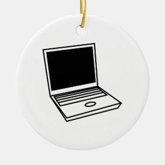 Laptop PC Ceramic Ornament