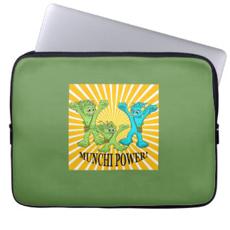 laptop sleeve - munchi power - family energy