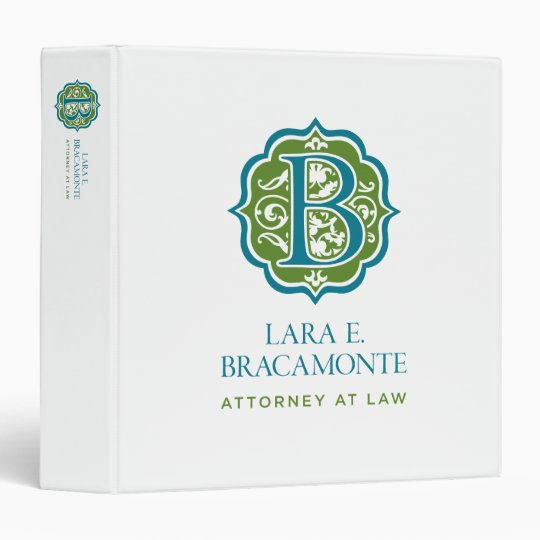 Lara Bracamonte 3-Ring Binder