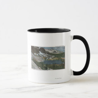 Laramie, WY - Lake Marie and Snowy Range on Unio Mug