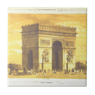 L'Arc de Triomphe, Paris 1840 Tile