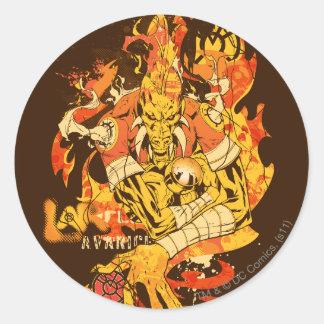Larfleeze - Agent Orange 10 Round Sticker