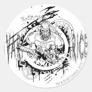 Larfleeze - Agent Orange 15 Classic Round Sticker