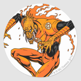 Larfleeze - Agent Orange 1 Round Sticker