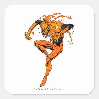 Larfleeze - Agent Orange 1 Square Sticker