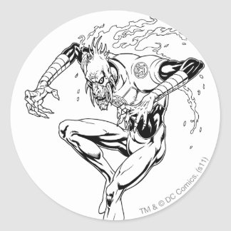 Larfleeze - Agent Orange 3 Round Sticker