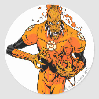 Larfleeze - Agent Orange 4 Round Sticker