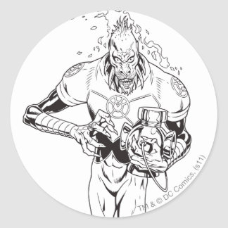 Larfleeze - Agent Orange 6 Round Sticker
