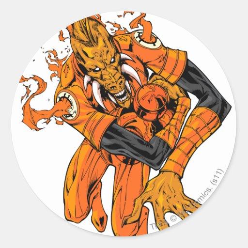 Larfleeze - Agent Orange 7 Stickers