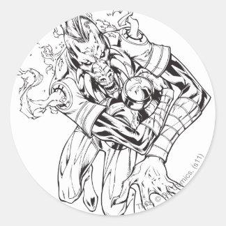 Larfleeze - Agent Orange 9 Stickers