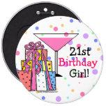 Large- 21st Birthday Girl