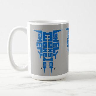 Large 444 ml White Mug with Blue/Grey Totem logo