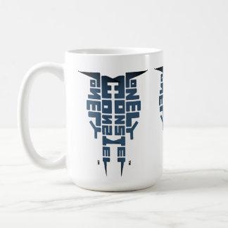 Large 444 ml White Mug with Fog Totem logo