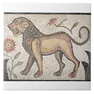 """Large (6"""" x 6"""") Ceramic Photo Tile/Roman mosaics Tile"""