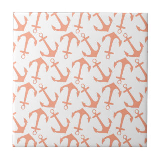 LARGE ANCHORS CORAL Theme Tile