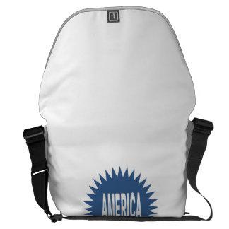 Large Bag AMERICA Courier Bag
