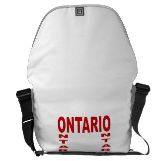 Large Bag ONTARIO Messenger Bag