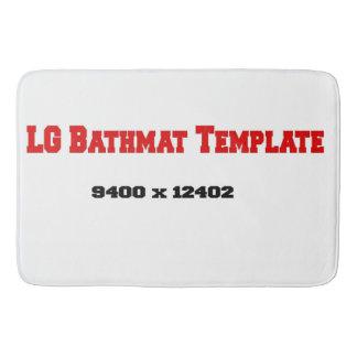Large Bathmat Template