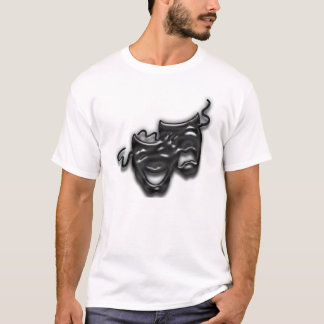 Large Black Masks Nightie T-Shirt