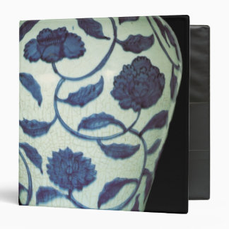 Large blue and white vase, Jaijing Period Vinyl Binder