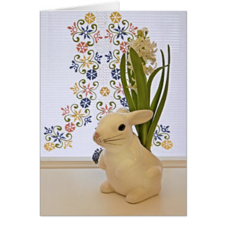 Large bunny card