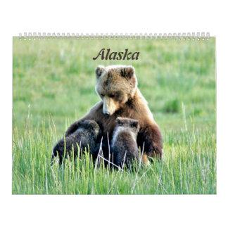 Large calender of Alaska Calendar
