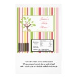 Large Candy Bar Wrapper Love and Nature Girl Woodl Personalized Flyer