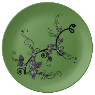Large Ceramic Porcelain Plate