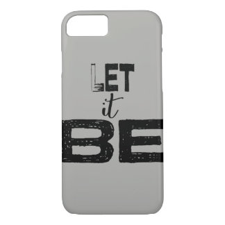 Large Chunky Let It Be Lettering iPhone 8/7 Case
