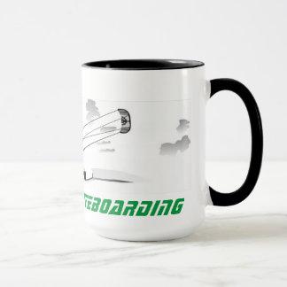 Large Coffee Mug - Kitesurfing