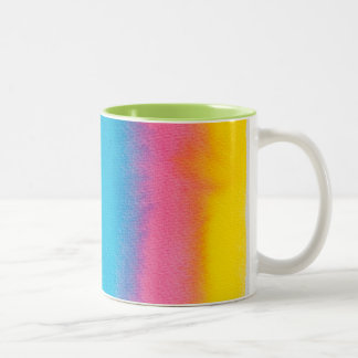 Large Coffee Mugs Multicolored Design!