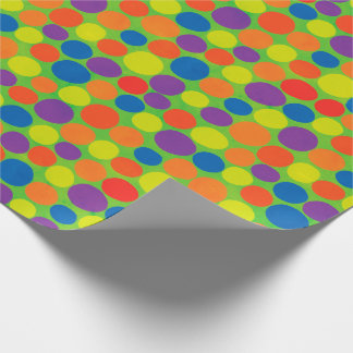 Large Colorful Dots Wrapping Paper