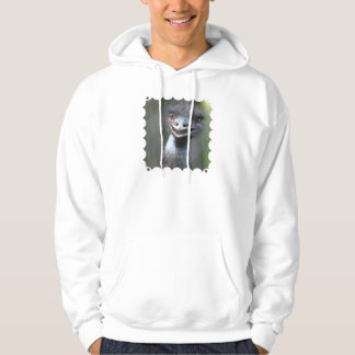 Large Emu  Hooded Sweatshirt
