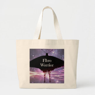 Large Fibro Warrior Tote Bag