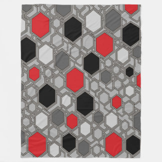 Large Fleece Blanket, modern, abstract, geometric