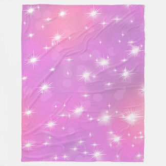 Large Fleece Blanket, modern, abstract, pink,