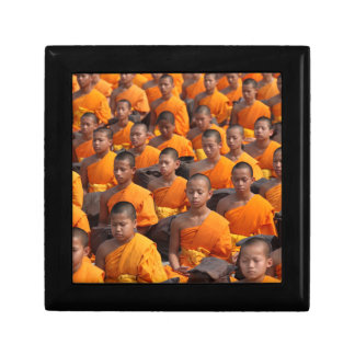 Large Group of Meditating Monks Gift Box