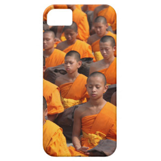 Large Group of Meditating Monks iPhone 5 Cover