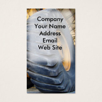 Large Industrial Tire Business Card