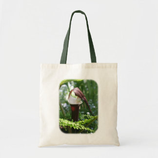 Large Jack In The Pulpit Floral Nature Tote Bag