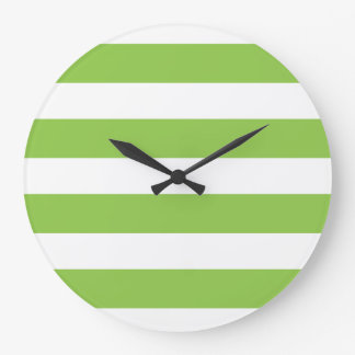 Large Lime Green Wall Clock