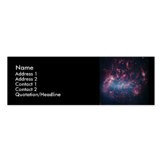 Large Magellanic Cloud Double-Sided Mini Business Cards (Pack Of 20)