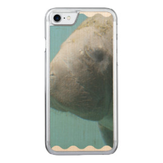 Large Manatee Underwater Carved iPhone 8/7 Case