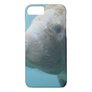 Large Manatee Underwater iPhone 8/7 Case