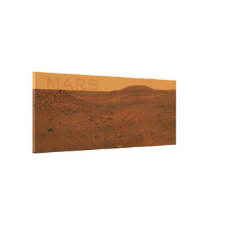Large Mars Canvas