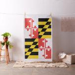 """Large Maryland Flag Pima Cotton (54"""" width) Fabric"""