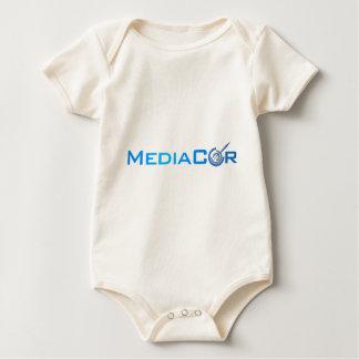 Large MediaCor Flat Baby Bodysuit